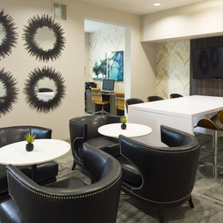 Cyber cafe' at The Apartments at Blakeney in Charlotte, NC