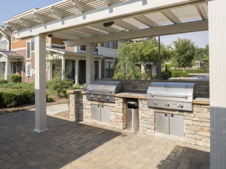 Grills at The Apartments at Blakeney in Charlotte, NC