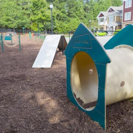Agility equipment Park at Crossroads Apartments in Cary, NC