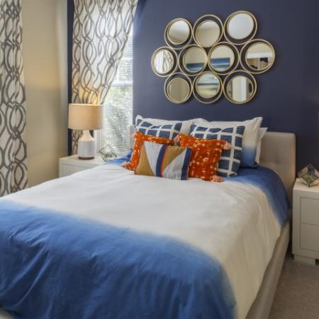Bedroom 1 Park at Crossroads Apartments in Cary, NC