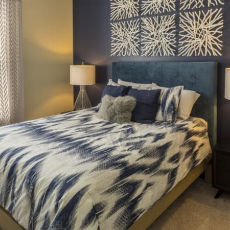 Bedroom 2 Park at Crossroads Apartments in Cary, NC