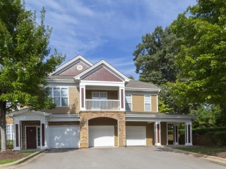 Garage Park at Crossroads Apartments in Cary, NC