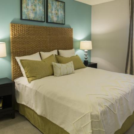 Bedroom picture at Marela apartments in Pembroke Pines, Florida