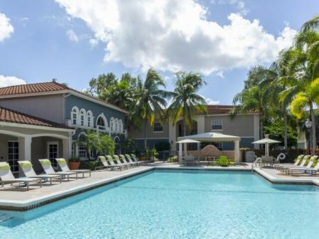 Pool 1 at Marela apartments in Pembroke Pines, Florida