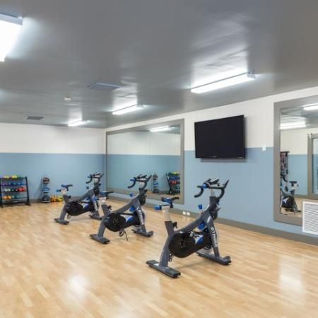 Spin room at Marela apartments in Pembroke Pines, Florida