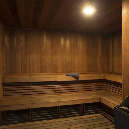 Sauna at Marela apartments in Pembroke Pines, Florida