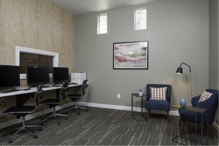 Business center at Cambria Apartments in Gilbert AZ