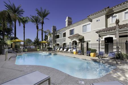 Second pool at Cambria Apartments in Gilbert AZ