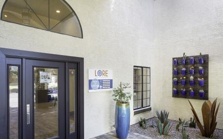 Office entry at Lore South Mountain Apartments in Phoenix AZ