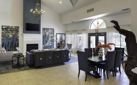 Resident lounge at Lore South Mountain Apartments in Phoenix AZ