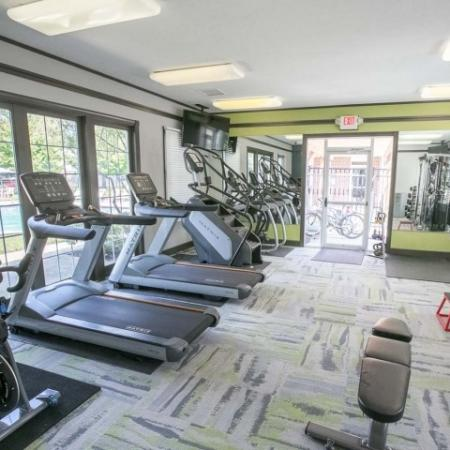 24-hour fitness center with state-of-the-art equipment