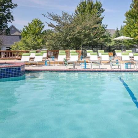 Swimming pool at Village at Avon in Avon, Ohio