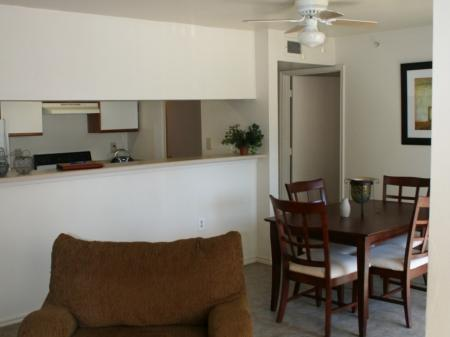 Ceiling fan at Valley Ridge Apartment Homes in Lewisville, TX