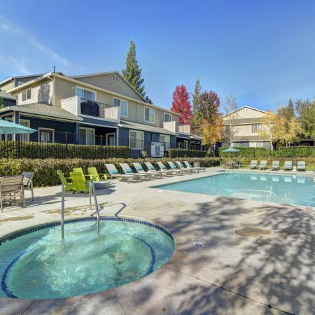 Spa at Atwood Apartments in Citrus Heights CA