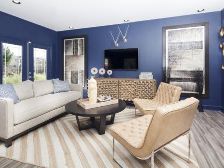 Clubhouse at Ardenne apartments in Lafayette, CO