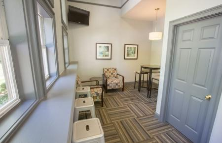 Resident lounge at Residence at White River in Indianapolis, IN