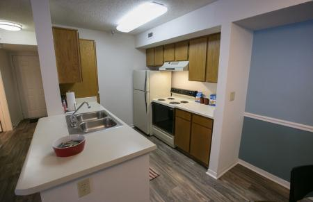 Breakfast bar at Residence at White River Apartments in Indianapolis, IN