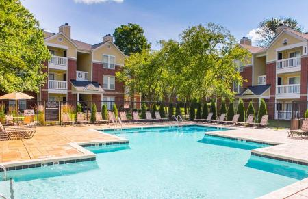 Poolside WiFi at Residence at White River Apartments in Indianapolis, IN