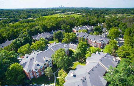 Located 6 miles from downtown at Residence at White River Apartments in Indianapolis, IN