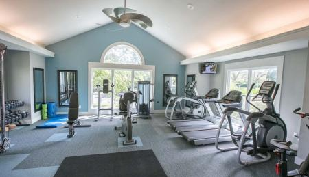 Newly upgraded fitness center