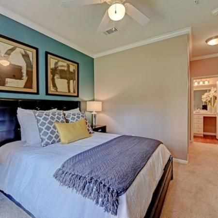 Bedroom at Brisa at Shadowlake Apartments in Houston, TX