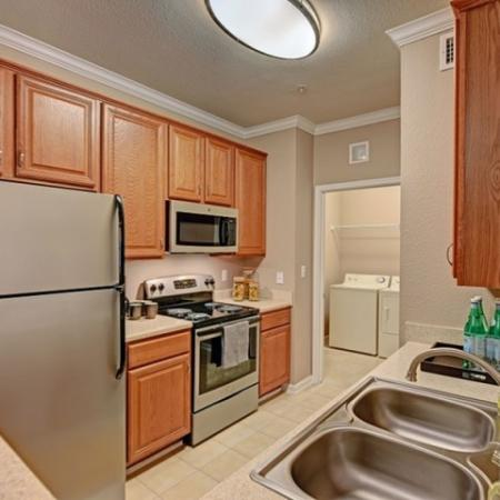 Kitchen at Brisa at Shadowlake Apartments in Houston, TX