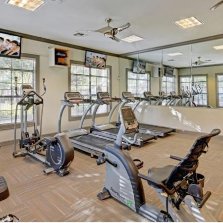 Cardio areaat Shadowlake Apartments in Houston, TX