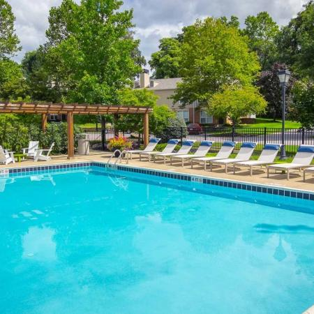 Quiet and serene at Williamsburg Townhomes in Sagamore Hills, Ohio