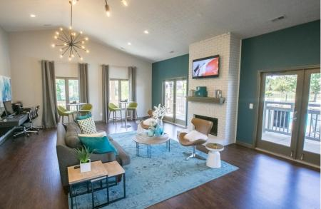 Renovated Clubhouse at Sterling Park Apartments in Grove City, Ohio