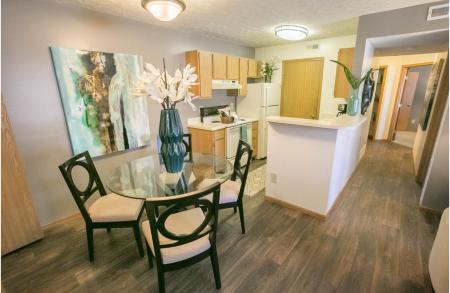 Wood Style Flooring at Sterling Park Apartments in Grove City, Ohio