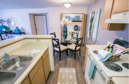 Kitchen at Sterling Park Apartments in Grove City, Ohio