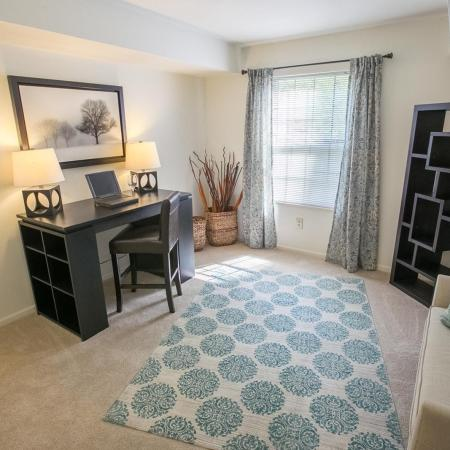 Second bedroom at Summer Ridge Apartments in Kalamazoo, Michigan