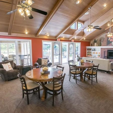 Clubhouse at Summer Ridge Apartments in Kalamazoo, Michigan