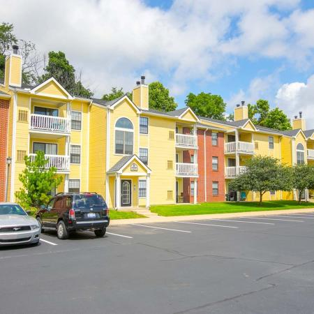 Ample parking at Summer Ridge Apartments in Kalamazoo, Michigan