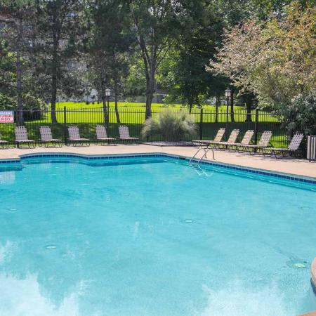 Poolside WiFi at Summer Ridge Apartments in Kalamazoo, Michigan