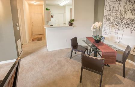 Spacious living areas at Center Point Apartments in Indianapolis, IN