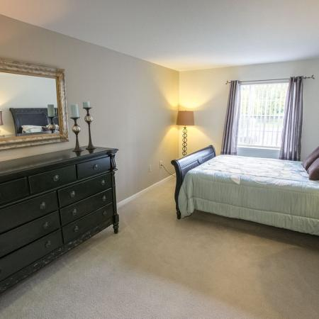 Spacious Bedrooms at The Landings at the Preserve in Battle Creek, Michigan