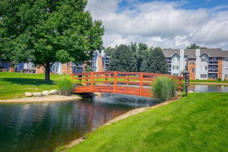 Beautiful Lake Views at The Landings at the Preserve in Battle Creek, Michigan