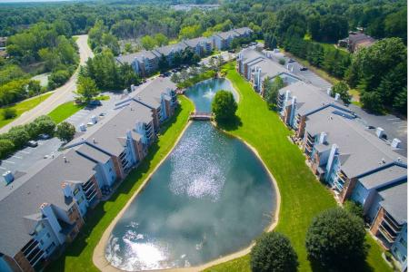 Aerial Photo of The Landings at the Preserve in Battle Creek, Michigan