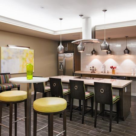 Clubroom at Cerano Apartments in Milpitas CA