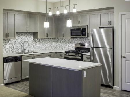 Valentia La Habra - Mindful Gray Kitchen Color Scheme