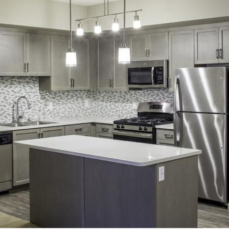 Valentia La Habra - Mindful Gray Kitchen Color Scheme