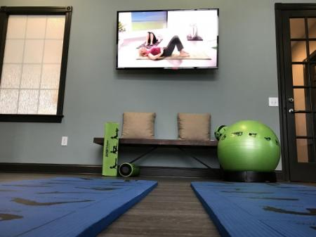 Brand new yoga studio at Village at Avon Apartments