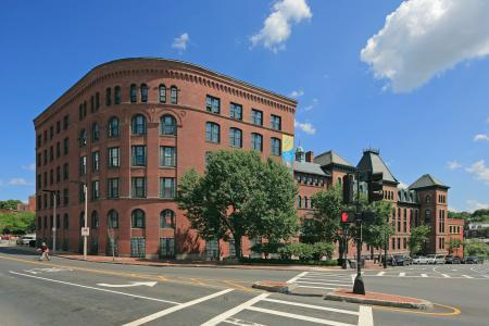 Studio, 12 bedroom apartments at Baker Chocolate Factory Apartments in Boston, MA