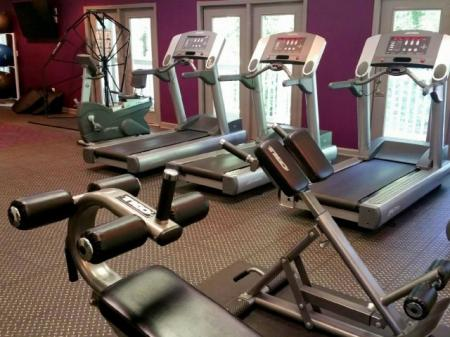 Fitness room at Highland Lake Apartments Decatur, GA