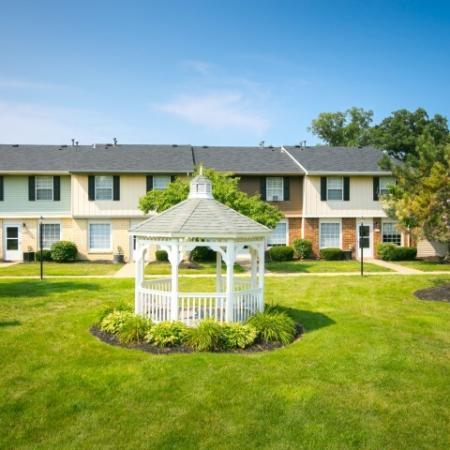 Gazebo at Westchester Townhomes Rental Homes in Westlake, OH