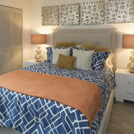 Bedroom at Water's Edge in Sunrise, FL