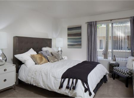 Master suite at Lakeview at Superstition Springs Apartments in Mesa AZ