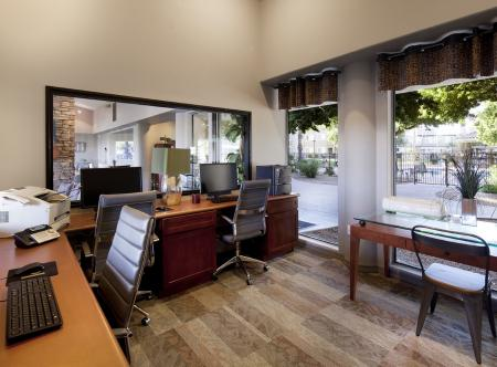 Business center at Lakeview at Superstition Springs Apartments in Mesa AZ