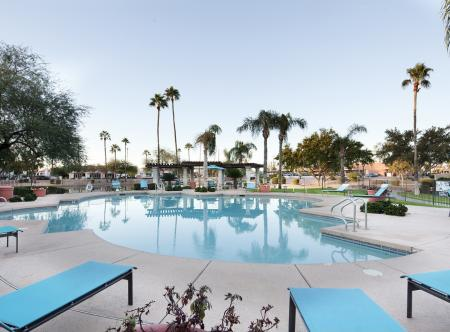 Pool at Lakeview at Superstition Springs Apartments in Mesa AZ